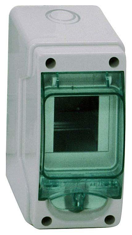 Купить Бокс настенный IP65 3М с прозр. дверью (Mini Kaedra), 150х80х98мм Kaedra IP65 Sc, Schneider Electric