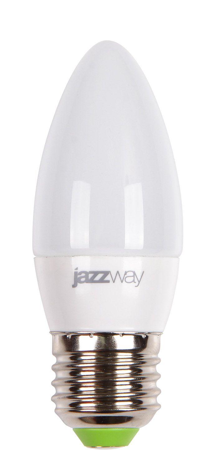 Купить Лампа светодиодная Jazzway PLED-SP C37 7w 3000K E27 530Lm230/50 свеча теплый-бел