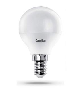 Купить Лампа светодиодная Camelion LED8-G45/830/E14 8Вт 230В теплый-белый, матовая
