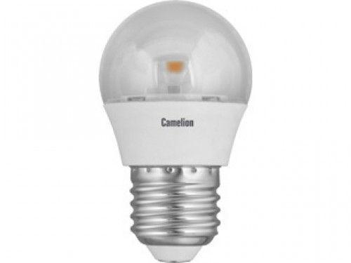 Купить Лампа светодиодная Camelion LED5.5-G45-CL/845/E27 5.5Вт 230В холодный-белый, про