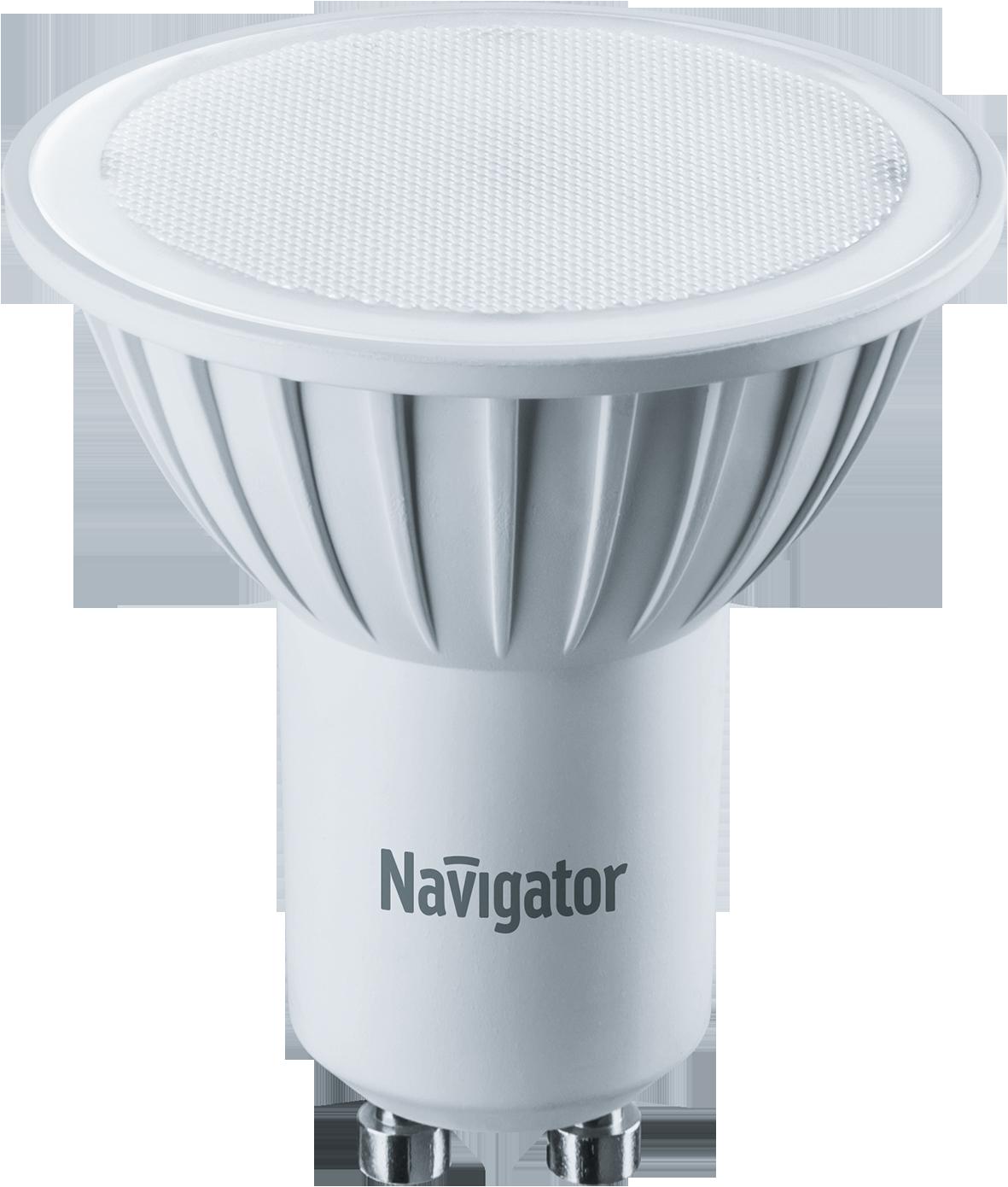 Купить Лампа светодиодная Navigator NLL-PAR16-5-230-4.2K-GU10/94130 5Вт 230В холодный-б