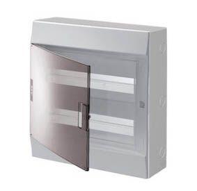 Купить Бокс настенный Mistral41 36М дымчатая дверь (с клеммами) 2 ряда IP41 ABB