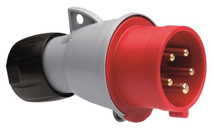 Купить Вилка силовая переносная 3P+N+E 16A IP44 ABB