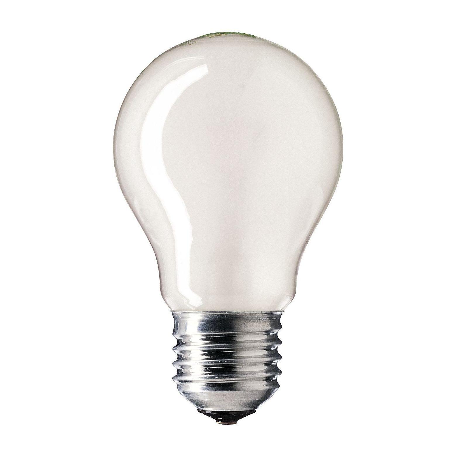 Купить Лампа накаливания Philips STANDARD 75W E27 230V A55 FR 1CT/12X10F Pila матовая