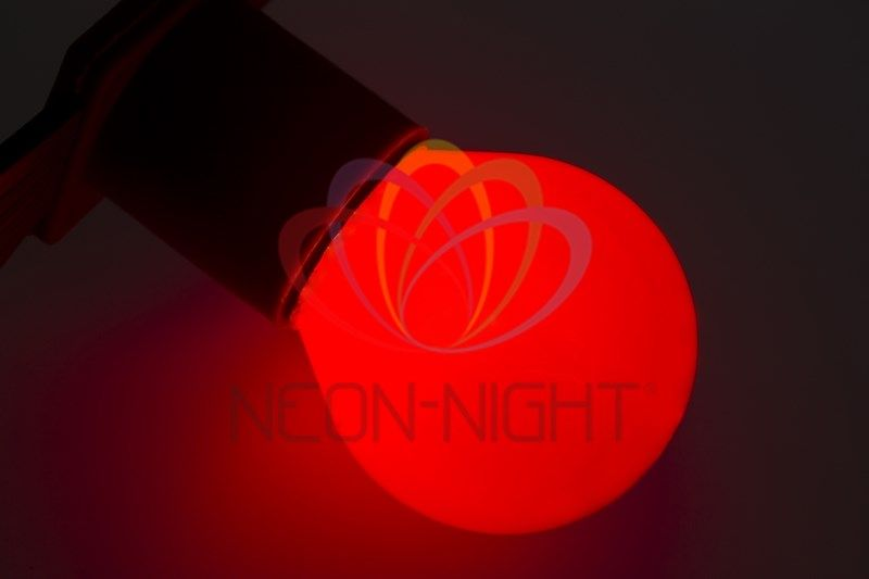 Купить Лампа NEON-NIGHT 401-112 е27 красная для BL 10 Вт