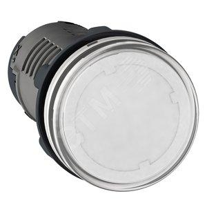 Купить Лампа сигнальная LED DC220В белая Шнейдер Электрик, Schneider Electric, Франция