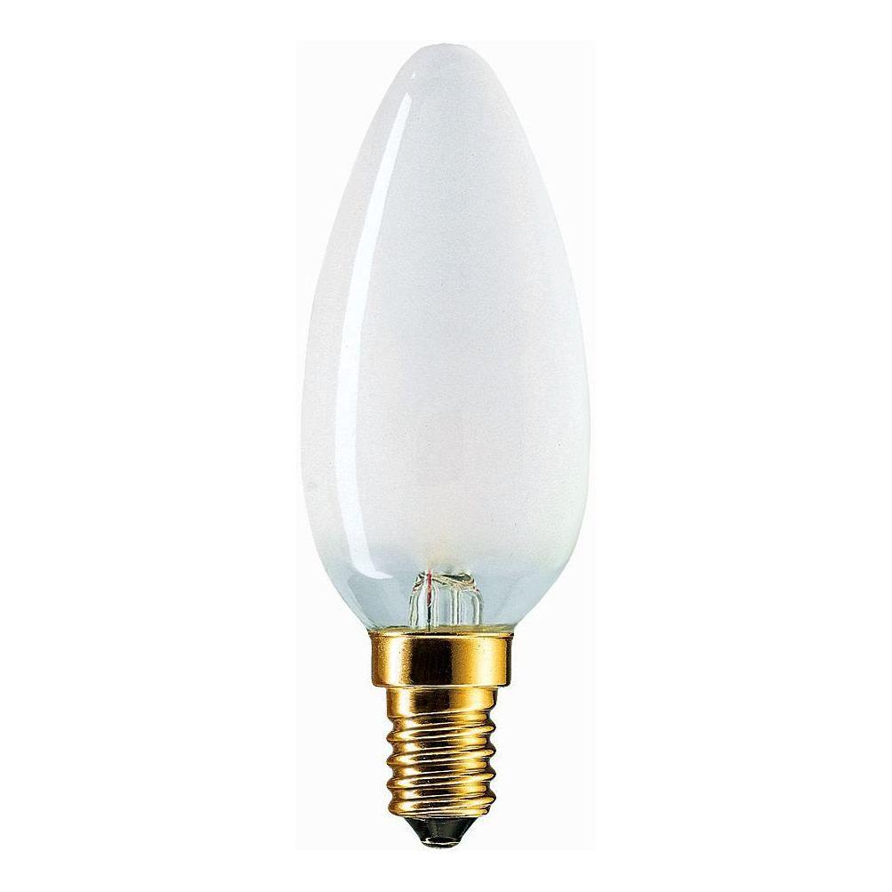 Купить Лампа накаливания Philips Stan 60W E14 230V B35 FR 1CT/10X10F свеча матовая