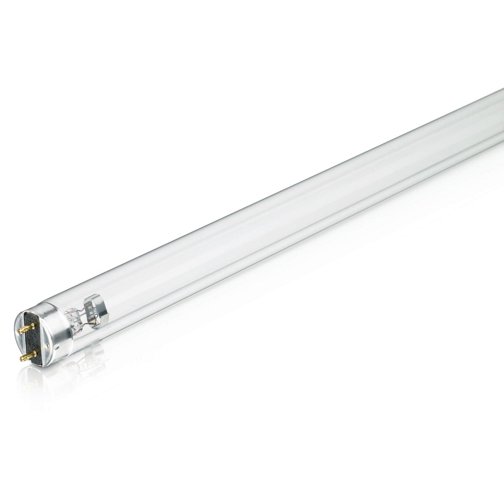 Купить Лампа люминесцентная Philips TUV 30W 1SL/25 Т8 (d26) 900мм 30Вт G13 бактерицидна