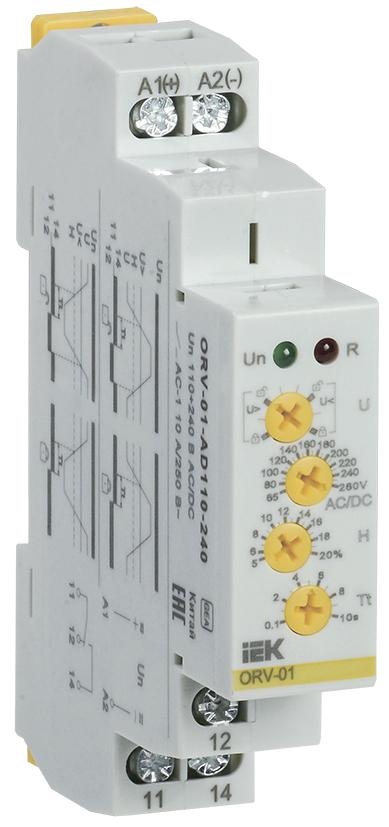 Купить Реле контроля 1-фаз. напряжения ORV 10А 110-240 В AC/DC IEK, IEK (ИЭК)