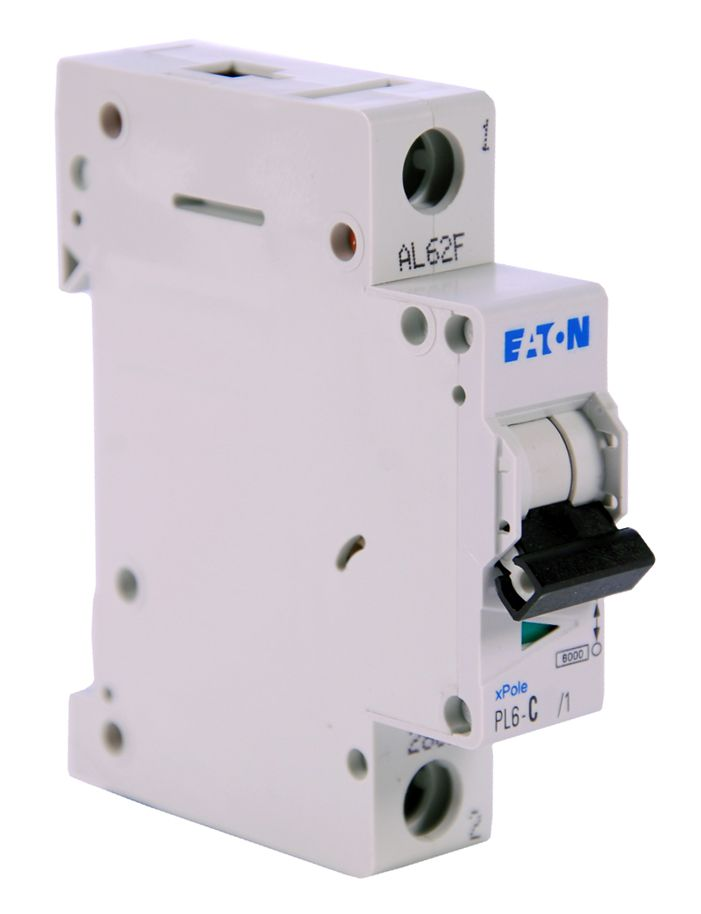 Купить Автоматический выключатель 4А, хар. С, 1-пол., 6 кА PL6 (6 кА), PL7 (10kA), PLHT, EATON