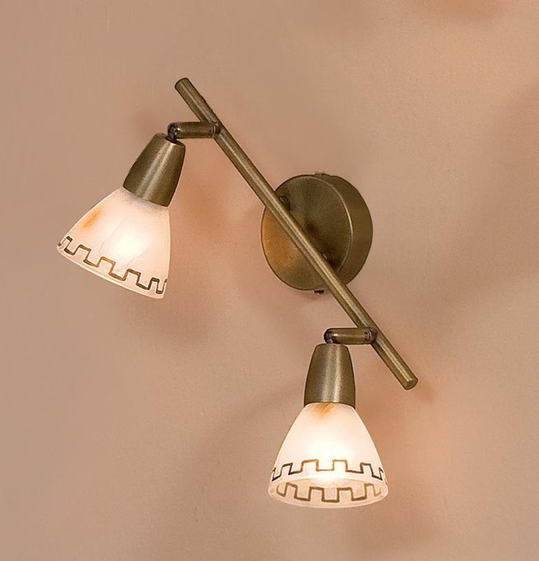 Купить Светильник Citilux CL507523 Афина Е14 2x60Вт настенно-потолочный, бронза состаре