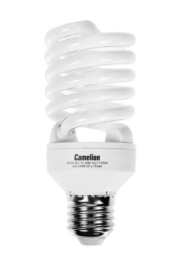 Купить Лампа люминесцентная Camelion CF30-AS-T2/864/E27 ECO 30Вт 230В 8000ч дневной све