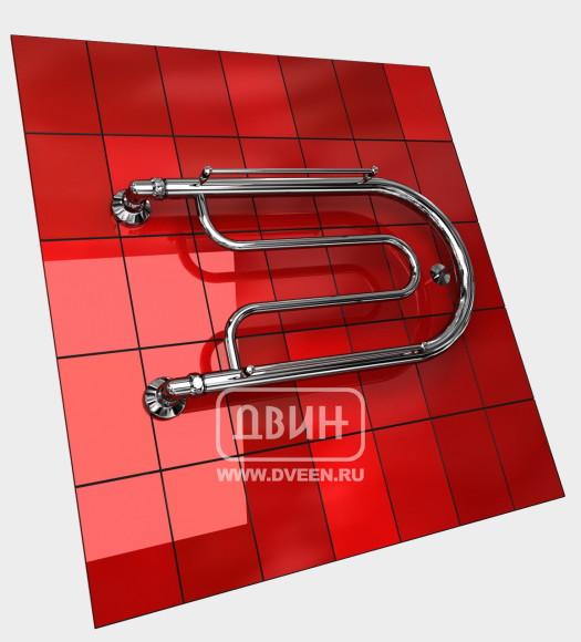 Полотенцесушитель водяной ДВИН белый B с полочкой (1 ¼) 32/50 Двин