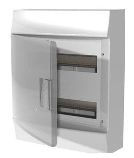 Купить Бокс настенный Mistral41 36М непрозрачная дверь (с клеммами) 2 рядаIP41 ABB