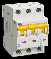 Купить Выключатель автоматический 3-пол. 6A с 6кА ВА47-60 IEK с ВА47-60, IEK (ИЭК)