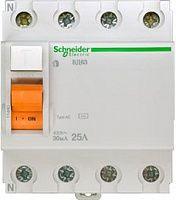 Купить Устройство защитного отключения 4-пол. 25А 30мА тип АС Domovoy Schneider Electri, Schneider Electric