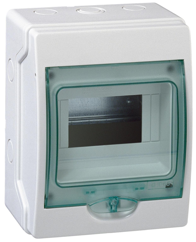 Купить Бокс настенный IP65 6М с прозр. дверью (Mini Kaedra), 200х159х112мм Schneider El, Schneider Electric