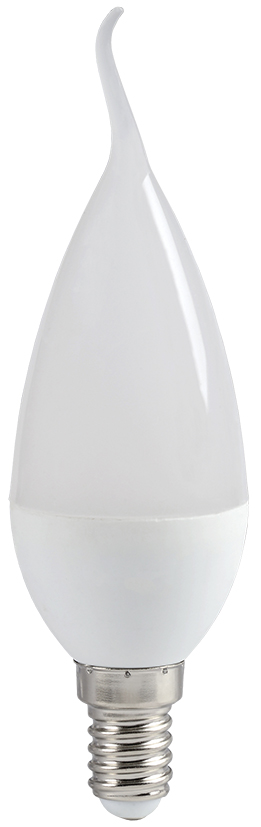 Купить Лампа светодиодная IEK ECO LLE-CB35-7-230-30-E14 7Вт 230В свеча на ветру теплый-, IEK (ИЭК)