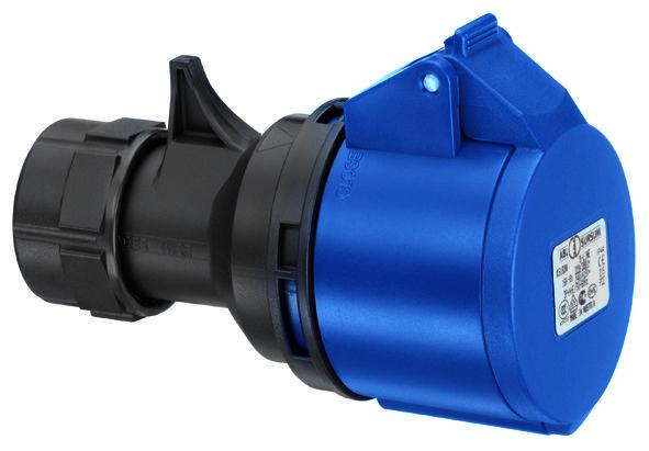 Купить Розетка силовая переносная 2P+E 32A IP44 ABL SURSUM