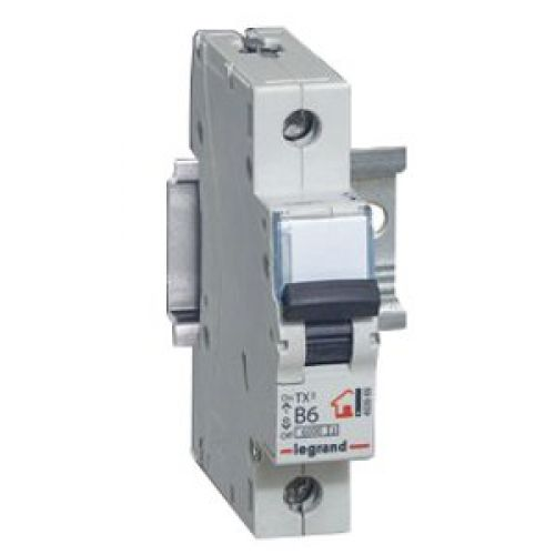 Купить Выключатель автоматический 1-пол. 25А B 6kA TX3 Legrand TX3 6 10 кА B