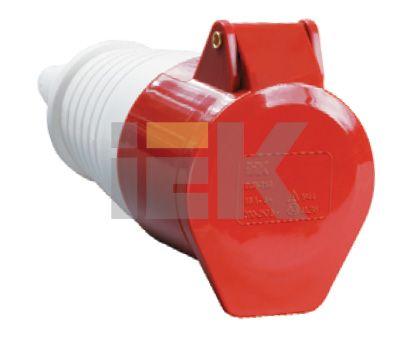 Купить Розетка силовая переносная 3P+N+E 32A IP44 225 IEK, IEK (ИЭК)