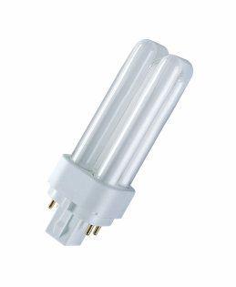 Купить Лампа люминесцентная Osram DULUX D/E 18W/840 G24Q-2 10X1 4-штыр. G24q2 2U 18Вт, Osram Ledvance