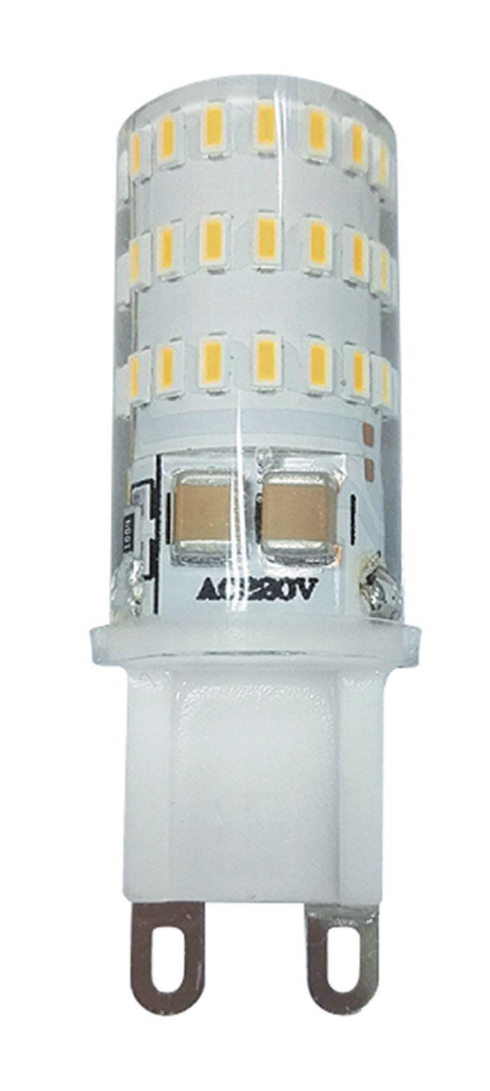 Купить Лампа светодиодная Jazzway PLED-G9 5w 2700K 300Lm 220V/50Hz капсула теплый-бел
