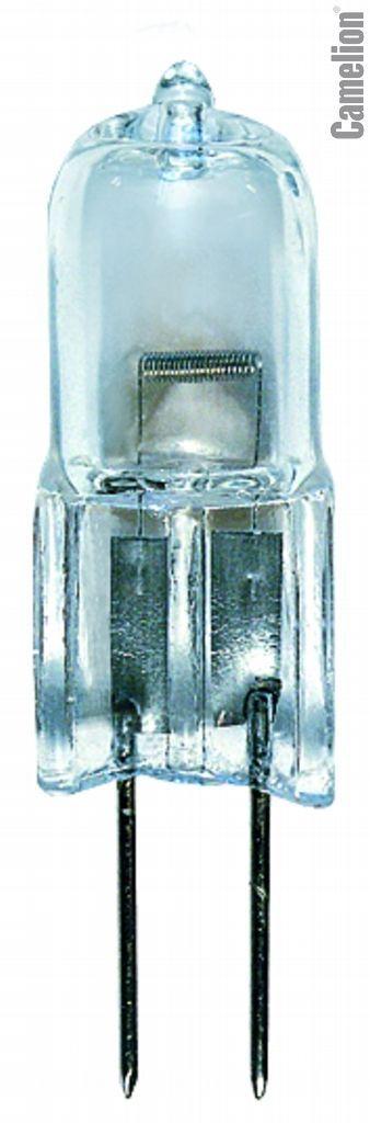 Лампа галогенная Camelion JC 20 G4 капсула 20Вт 12В прозрачная  - Купить