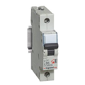 Купить Выключатель автоматический 1-пол. 40А с 6kA TX3 Legrand TX3 6 10 кА, с