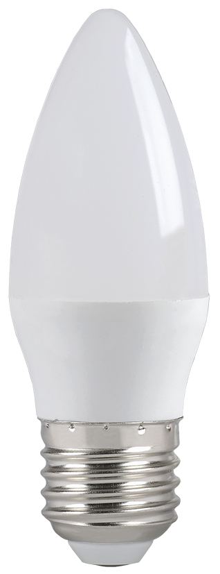 Купить Лампа светодиодная IEK ECO LLE-C35-7-230-40-E27 7Вт 230В свеча холодный-белый, IEK (ИЭК)