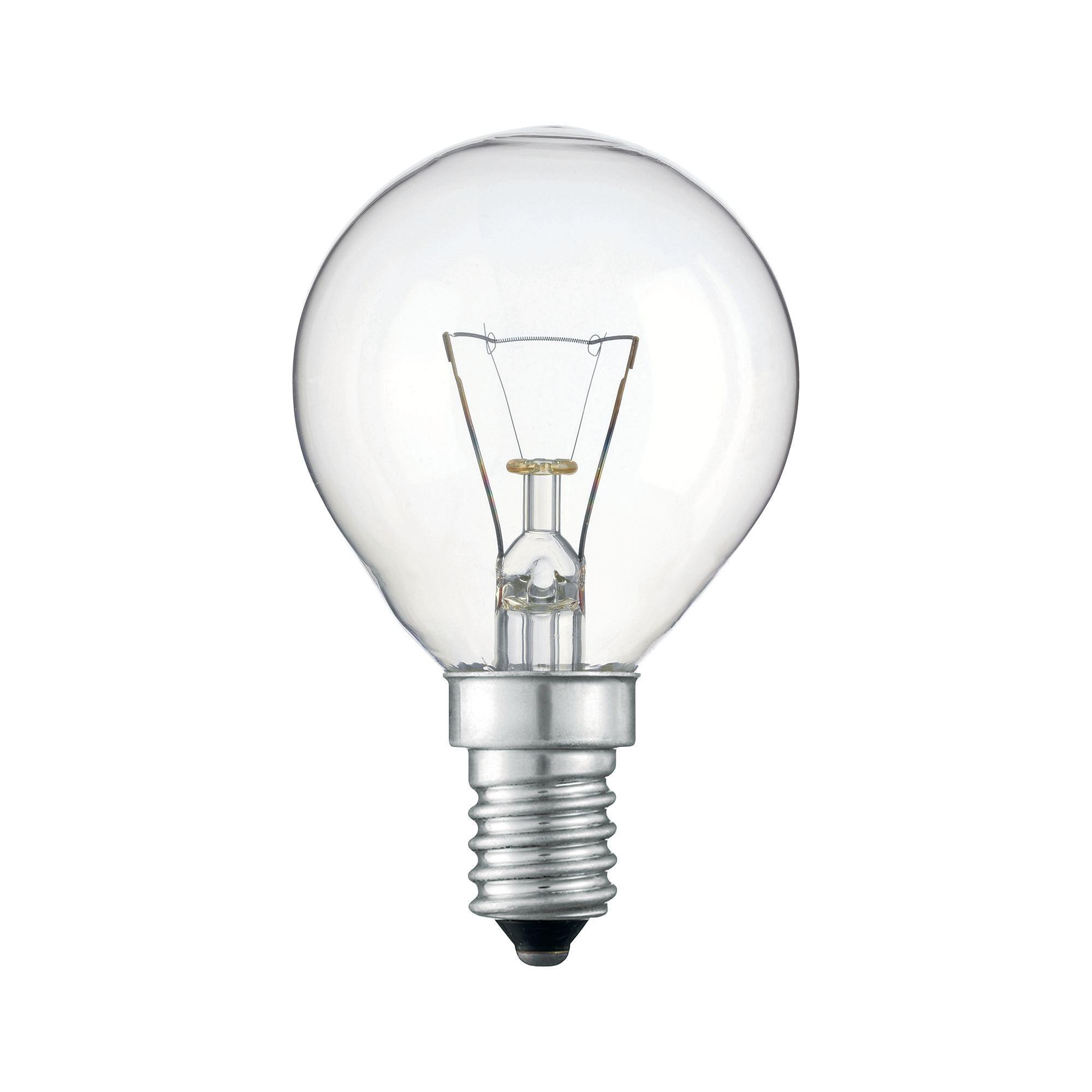 Купить Лампа накаливания Philips Stan 25W E14 230V P45 CL 1CT/10X10F прозрачная