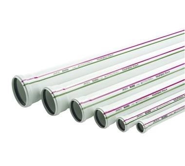Купить Труба канализационная Dу 50 500 мм REHAU 11201141005(120114-005), Германия