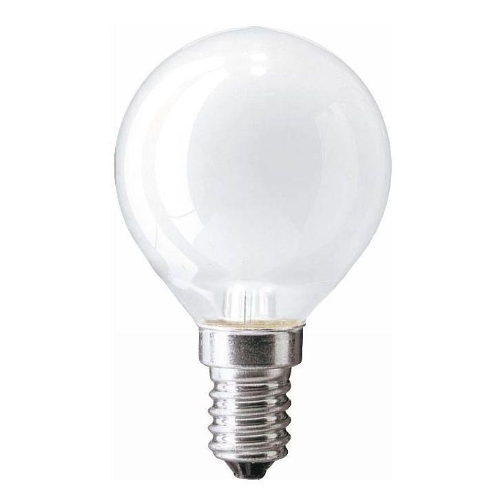 Купить Лампа накаливания Philips Stan 40W E14 230V P45 FR 1CT/10X10F матовая