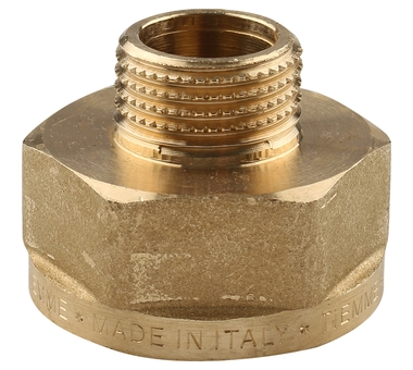 Купить Переходник НВ 1/2х1 для стальных труб резьбовой TIEMME 1500158(1551G000406), Италия