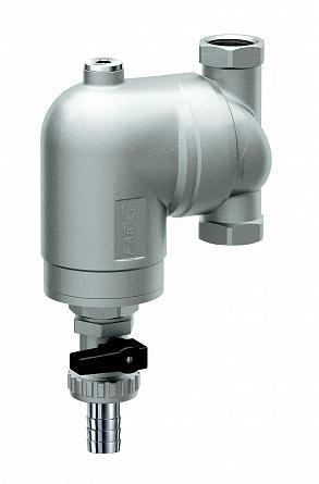 Купить Фильтр 300мкм, под манометр, Max: 95 °C, 25 бар. Поворотное соединение 1/2 ВР, FAR