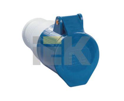 Купить Розетка силовая переносная 2P+E 16A IP44 213 IEK, IEK (ИЭК)