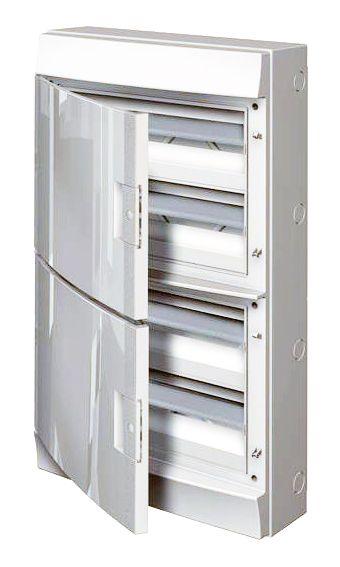 Купить Бокс настенный Mistral41 72М непрозрачная дверь (с клеммами) 656х382х120 IP41 AB, ABB