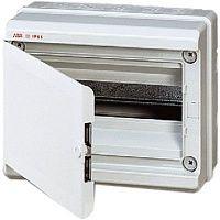 Купить Бокс настенный IP65 12М EUROPA с дв. серый, 275х220х140мм Europa IP65, FLY IP65, ABB