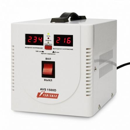 Купить Стабилизатор напряжения Powerman 1500 Вт PWM AVS 1500D, Powerman & Co