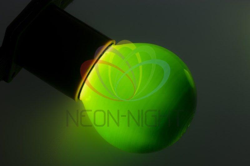 Купить Лампа NEON-NIGHT 401-114 е27 зеленая для BL 10 Вт