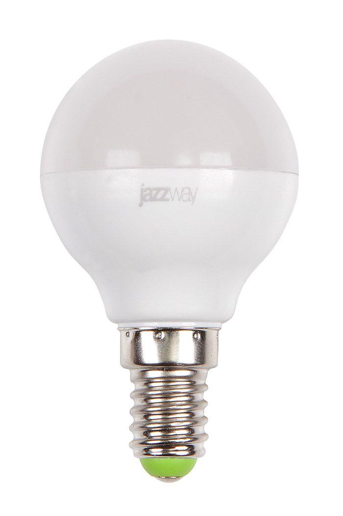 Лампа светодиодная Jazzway PLED-SP G45 7w 3000K 530 Lm E14 230/50 теплый-белый м  - Купить