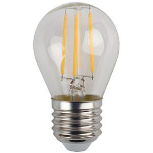 Купить Лампа светодиодная Эра F-LED Р45-5w-827-E27 (25/50/3750) филаментная, теплый-бел, ЭРА (Энергия света)