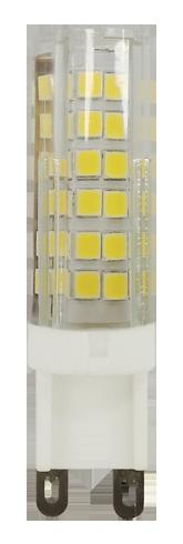 Лампа светодиодная Jazzway PLED-G9 9w 2700K 590Lm 175-240V/50Hz капсула теплый  - Купить