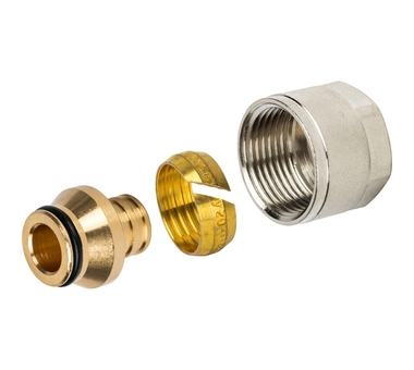 Купить Фитинг компрессионный для труб PEX 20х2, 8х3/4 STOUT SFC-0020-002028, Италия