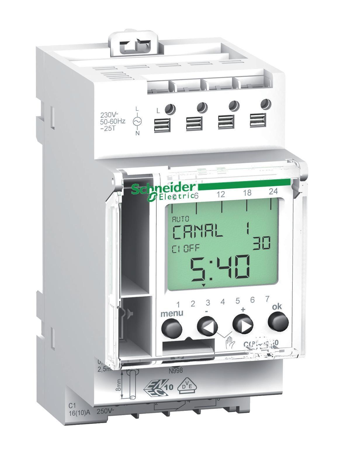 Купить Реле времени Недельное 16А 220В 1канал Schneider Electric