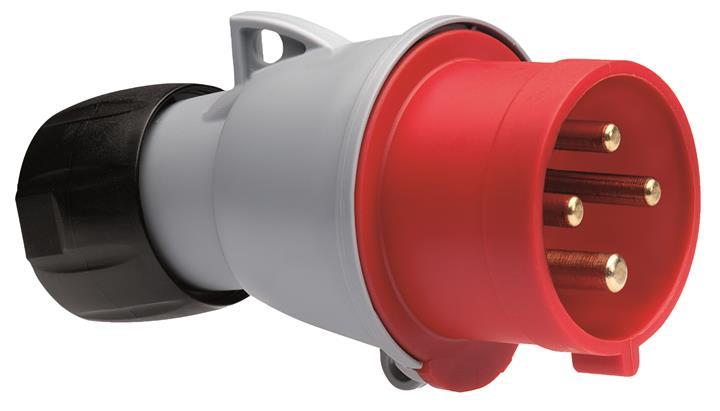 Купить Вилка силовая переносная 3P+E 16A IP44 ABB