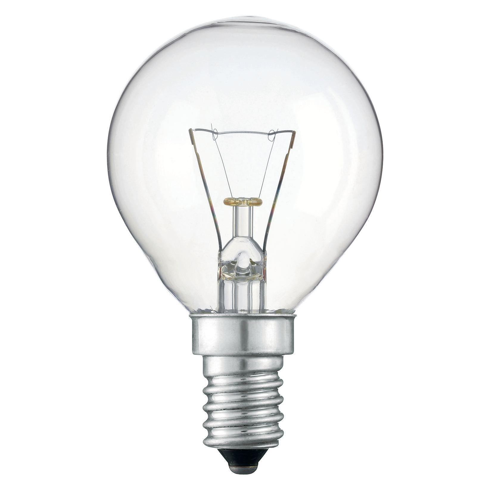 Купить Лампа накаливания Philips Stan 60W E14 230V P45 CL 1CT/10X10F прозрачная