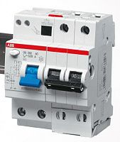 Купить Дифференциальный автомат 2-пол. 25А с 30mA тип AC 6kA 4-мод. ABB