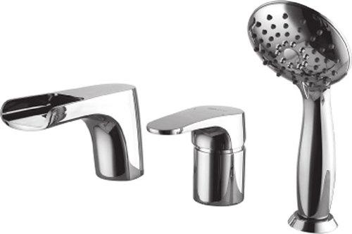 Смеситель встраиваемый Lemark Shift LM4345C для ванны, Чехия  - Купить