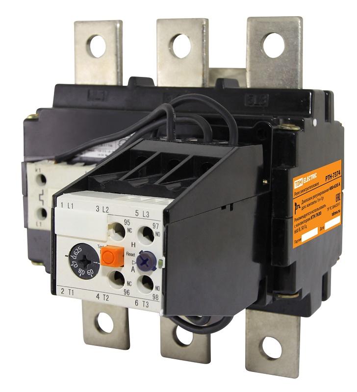 Купить Реле тепловое РТН-6378 160-250А TDM, TDM ELECTRIC